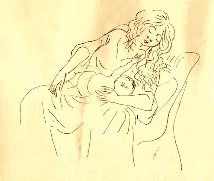 Jeune-mère