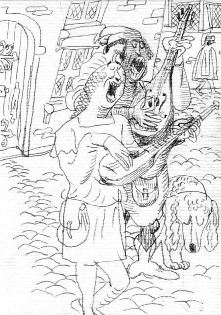 Chanteurs-de-rue