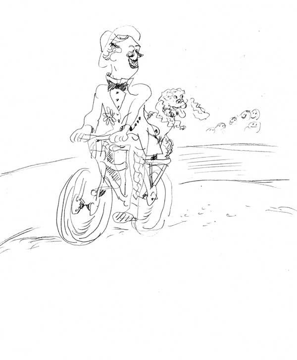 Clown-à-vélo